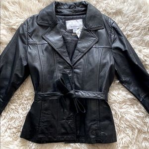Wilson's Leather Belted Jacket 🧥 thinsulate liner